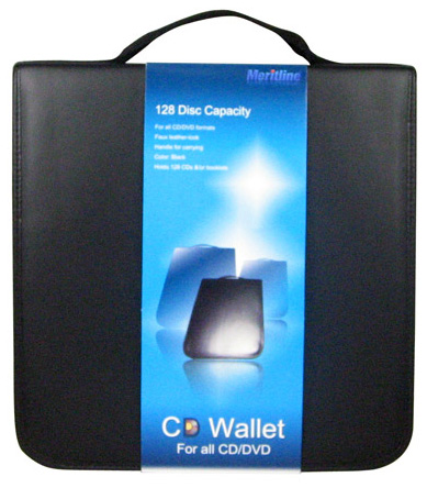 CD Wallet 128 CD Holder Case