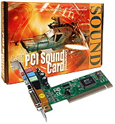 4-Channel PCI Sound Card