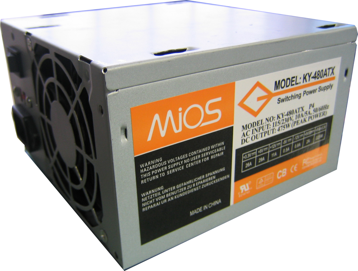MIOS 475W 24PIN POWER SUPPLY