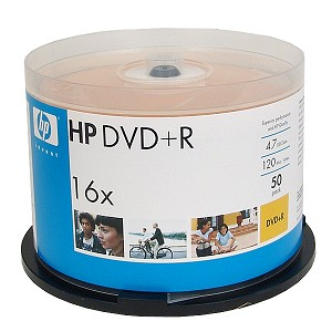 HP 16x DVD + R 50 Pcs Spindle